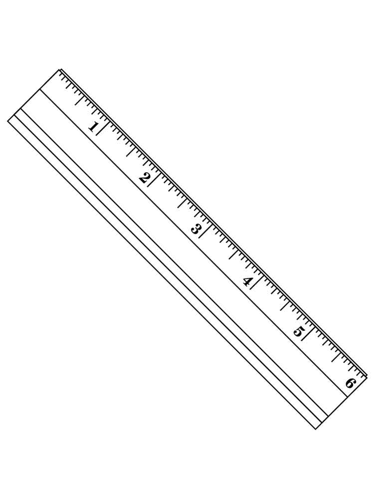 coloring pages ruler - photo#9