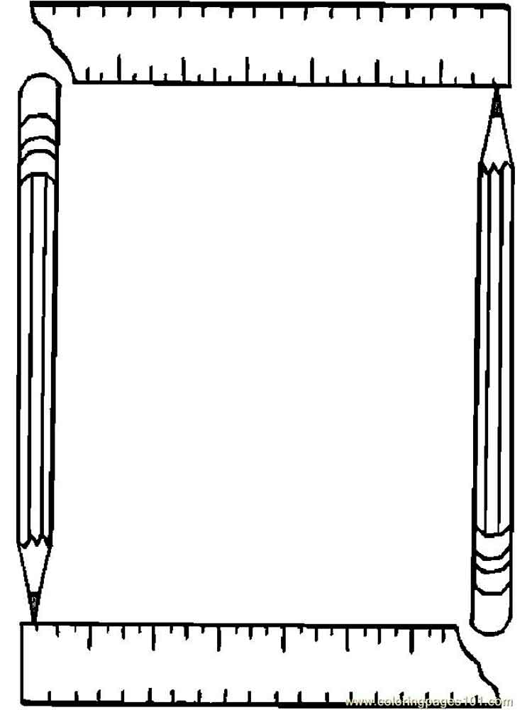 coloring pages ruler - photo#32