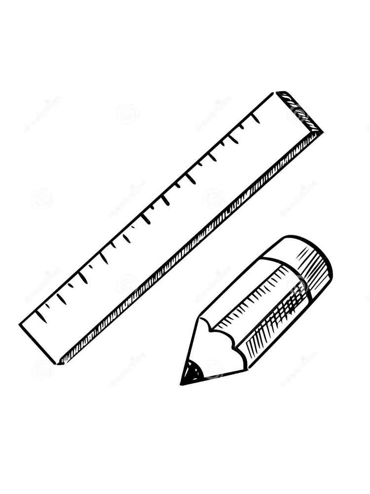 coloring pages ruler - photo#28