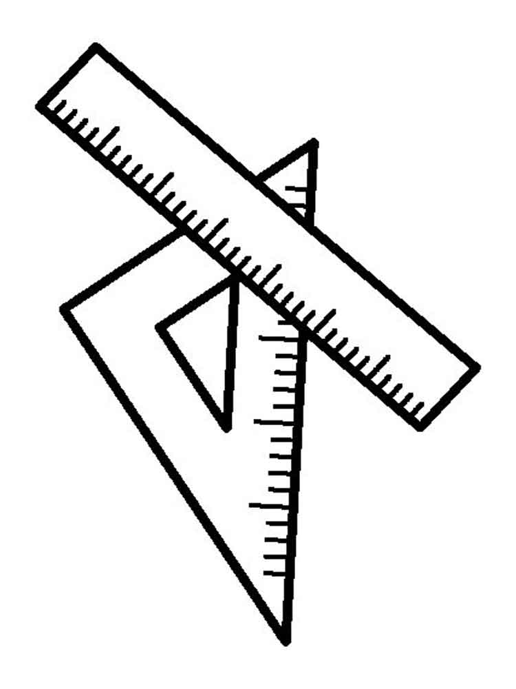 coloring pages ruler - photo#20