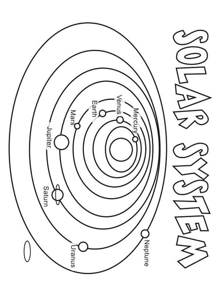 Solar system coloring pages. Free Printable Solar system coloring pages.