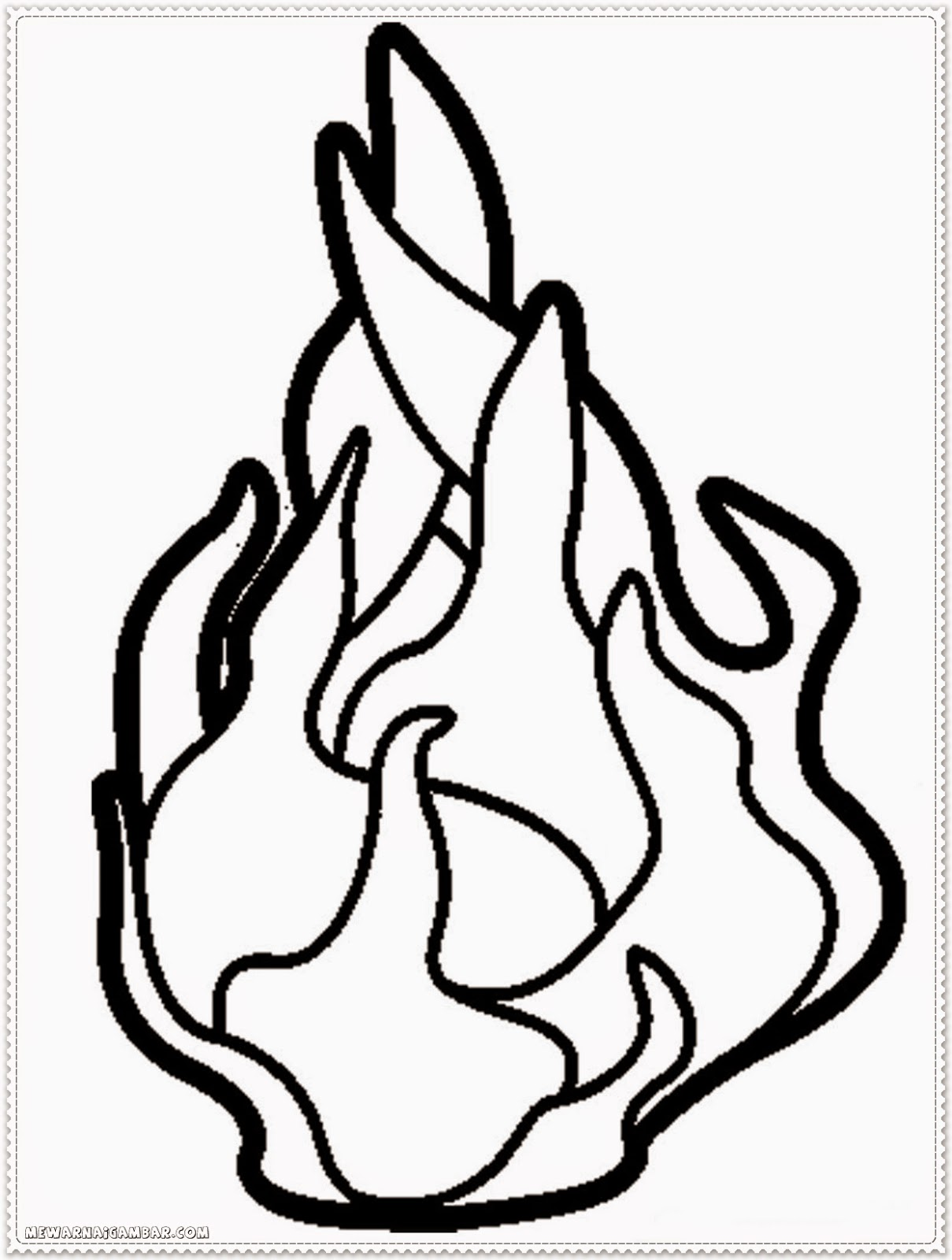 dragon fruits coloring pages 1
