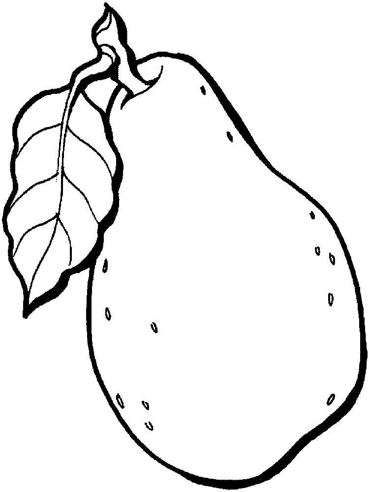 Pear coloring pages Download and print Pear coloring pages