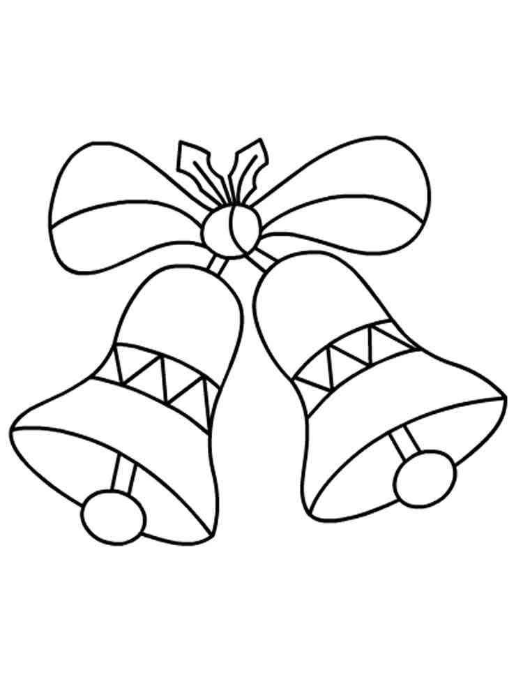 Christmas Bells coloring pages Free Printable Christmas