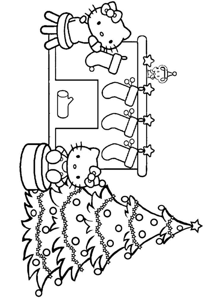 Christmas Chimneys coloring pages. Free Printable ...