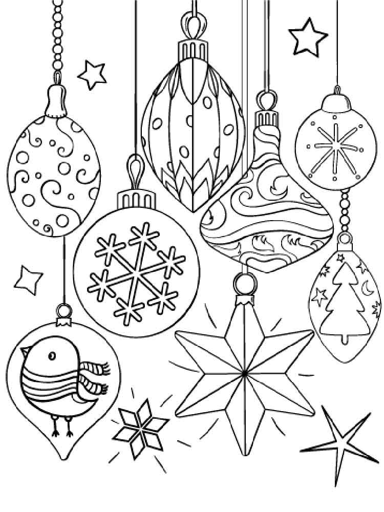 christmas decorations coloring pages free printable christmas decorations coloring pages. Black Bedroom Furniture Sets. Home Design Ideas