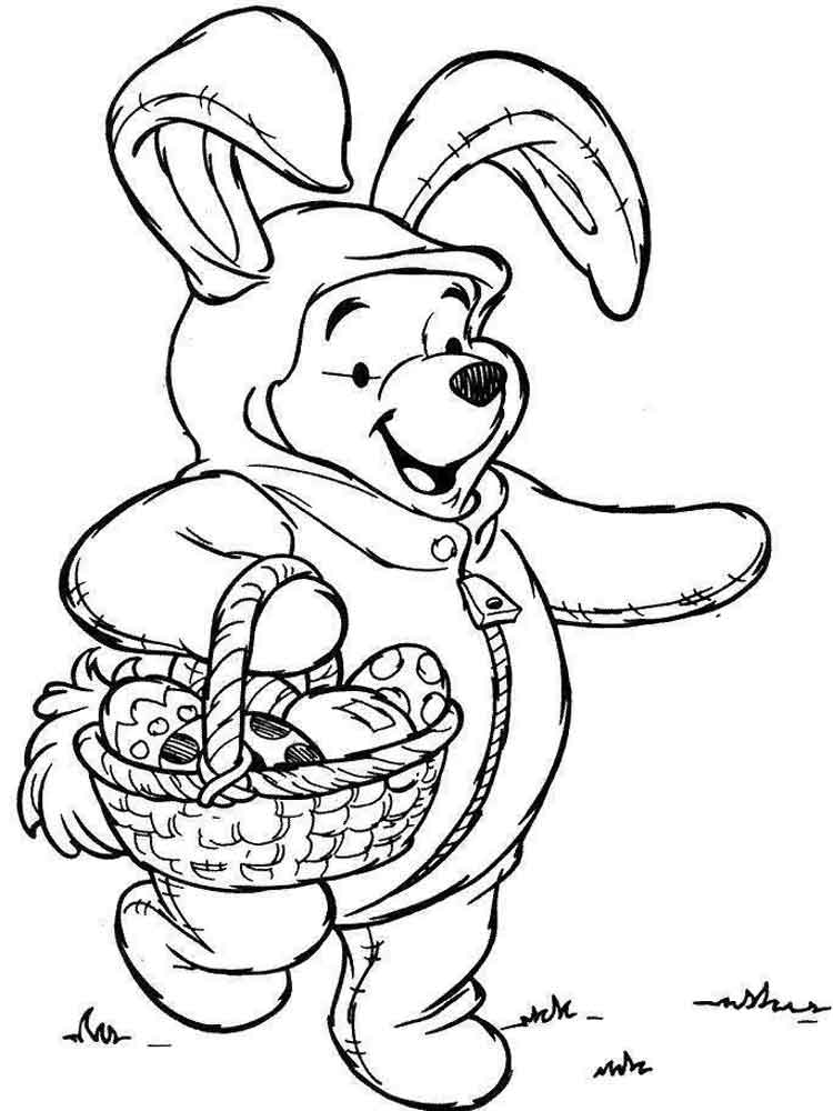 Disney Easter coloring pages Free