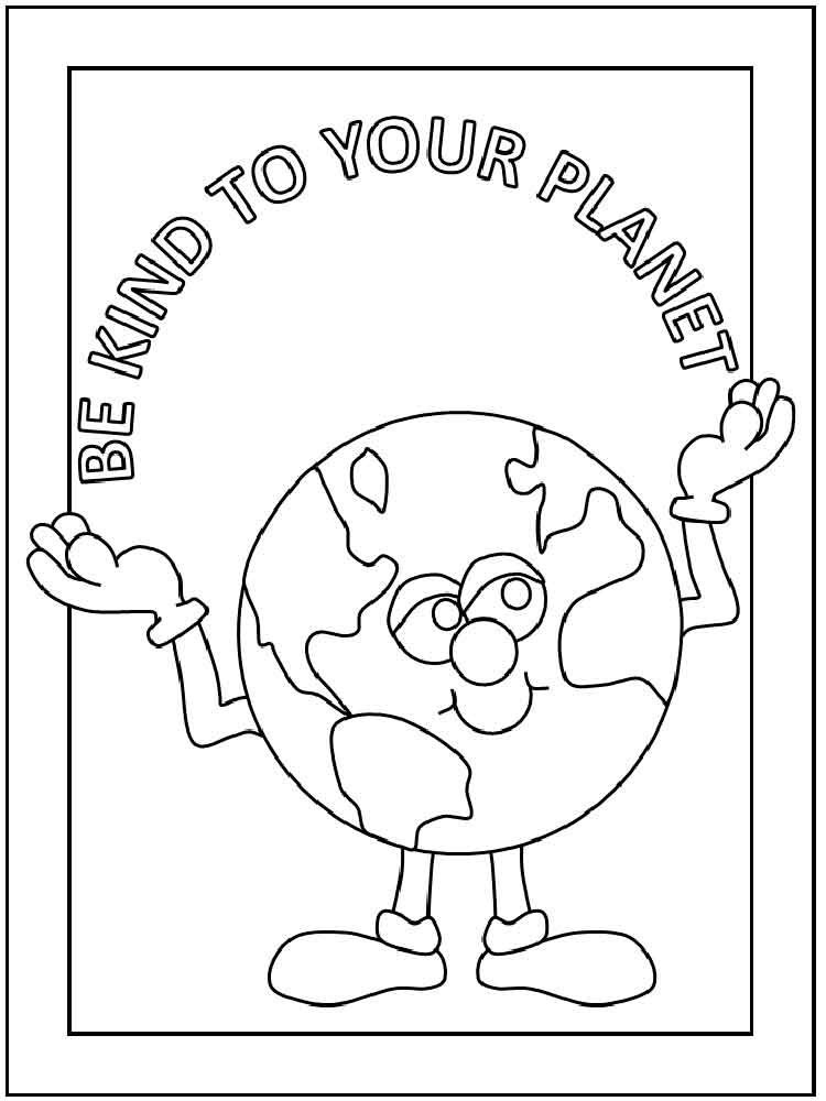Earth Day Coloring Pages 12