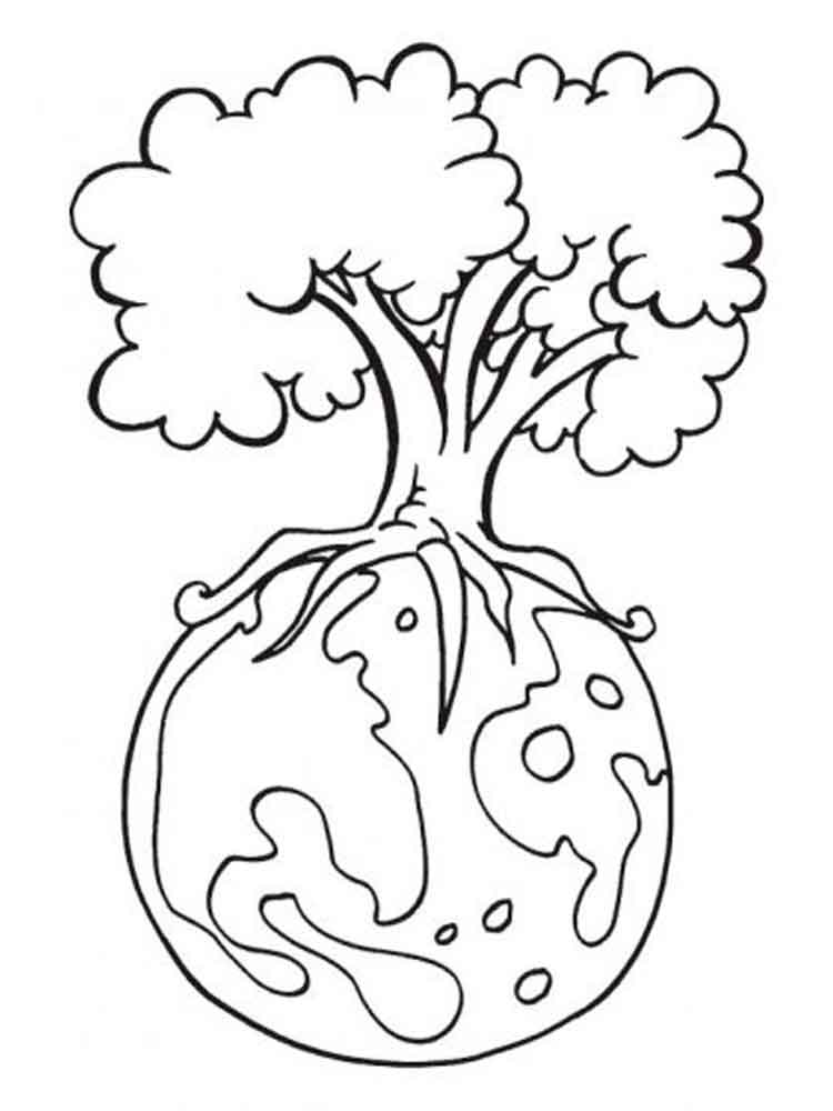 Earth Day coloring pages Free Printable Earth Day coloring pages