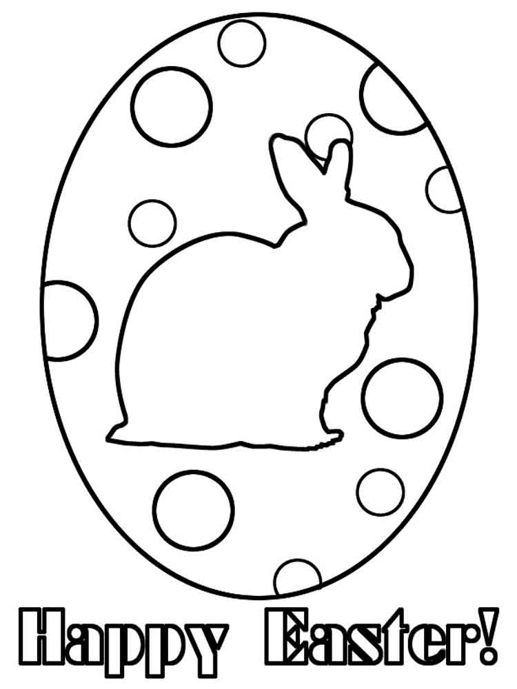 Easter Egg Coloring Pictures 47
