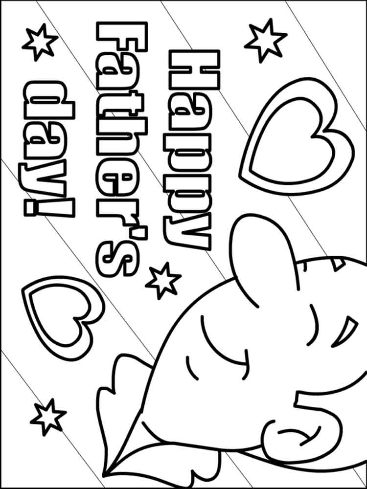 Father's Day coloring pages. Free Printable Father's Day ...