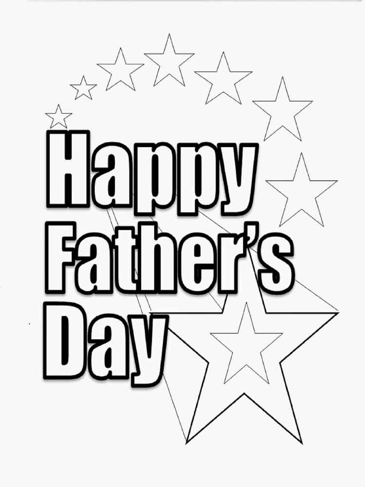 It is a graphic of Refreshing Free Printable Fathers Day Coloring Pages