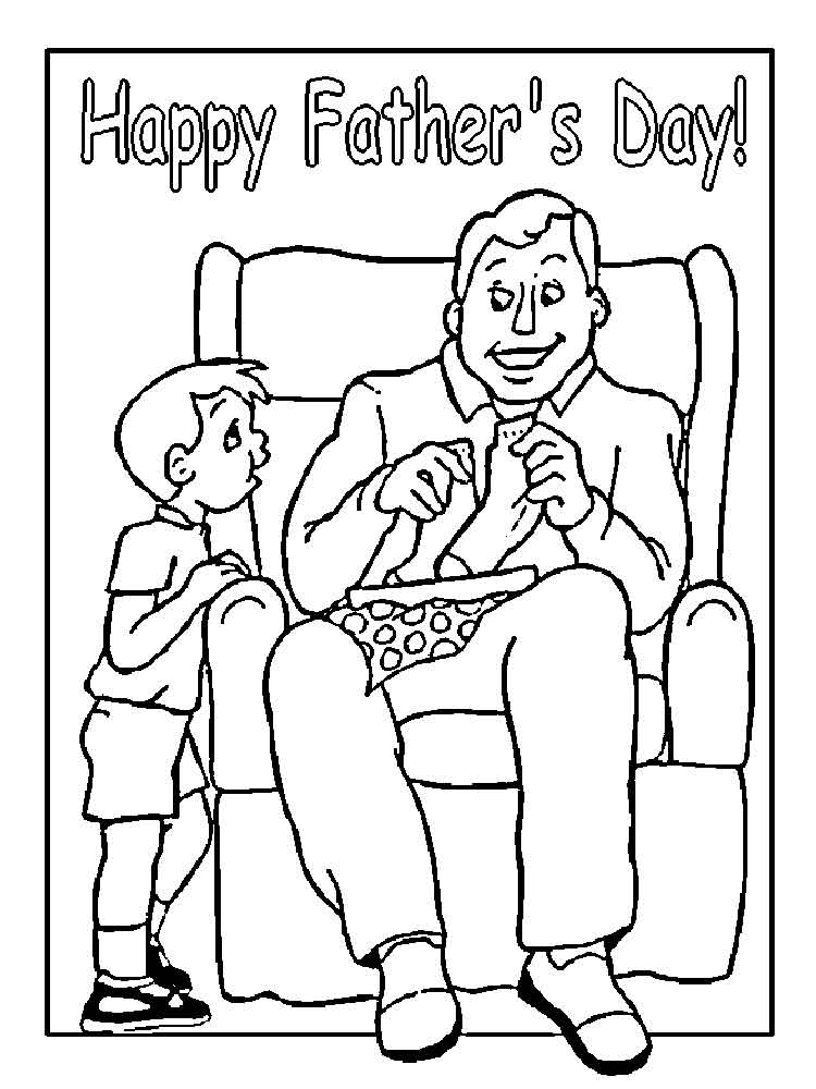Father 39 s Day coloring pages Free Printable Father 39 s Day