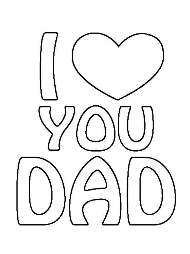 free happy birthday coloring pages for dad | Happy Birthday Dad Coloring Pages Sketch Coloring Page