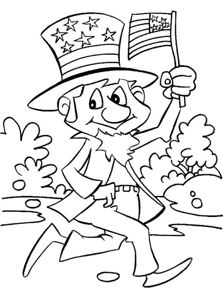 Independence Day Coloring Pages 1