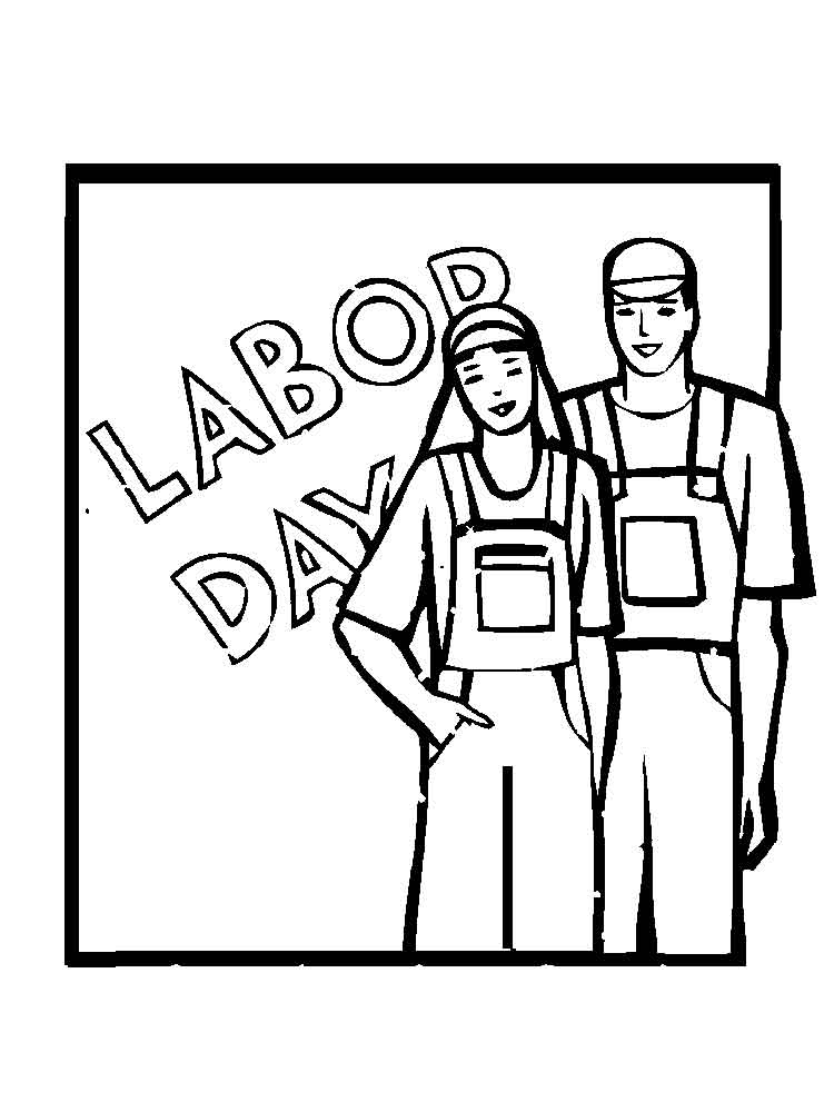 Labor Day coloring pages. Free Printable Labor Day ...