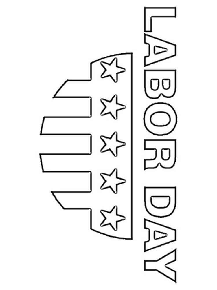 Labor Day coloring pages Free