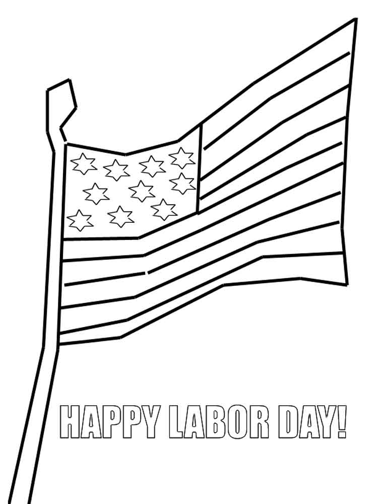 labor day coloring book pages | Labor Day coloring pages. Free Printable Labor Day ...