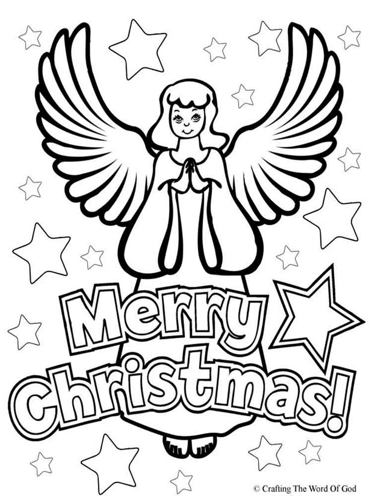 Merry Christmas Coloring Pages Free Printable Merry Christmas Merry Coloring Pages