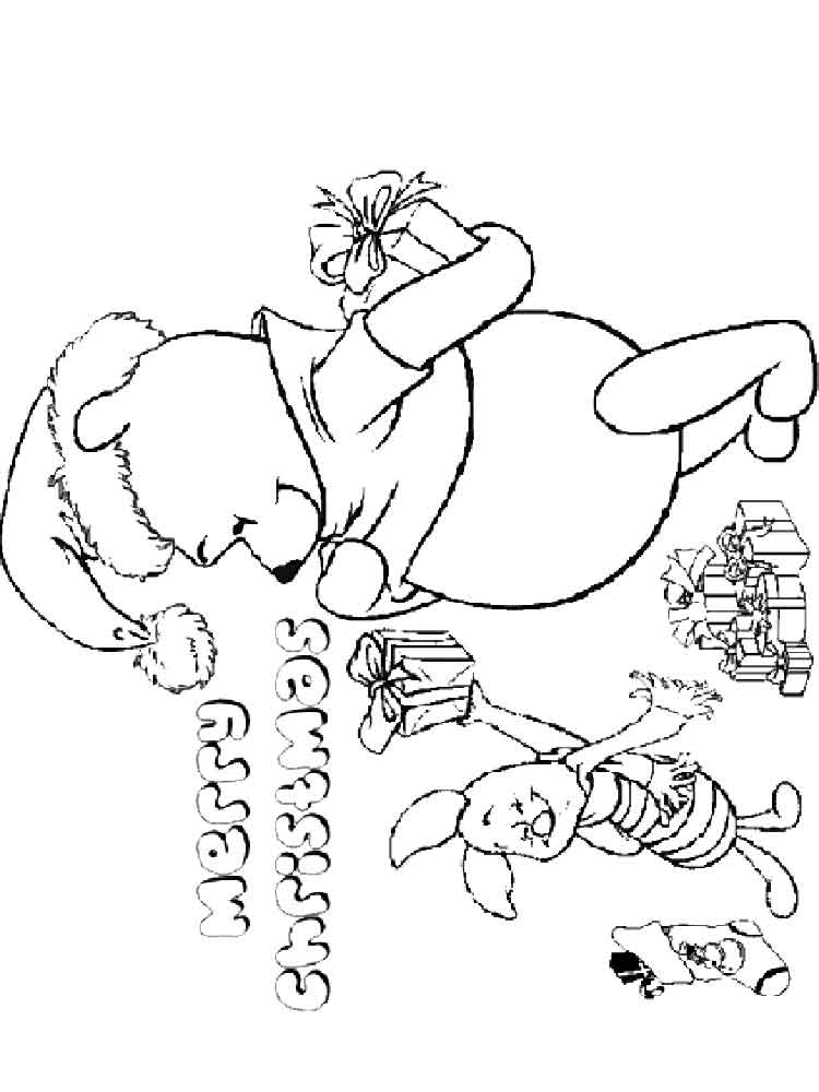 Merry Christmas Coloring Pages Free Printable Merry
