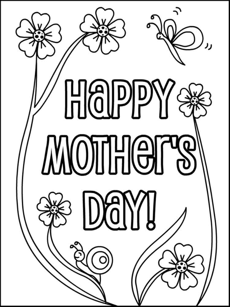 Mother 39 s Day coloring pages Free Printable Mother 39 s Day