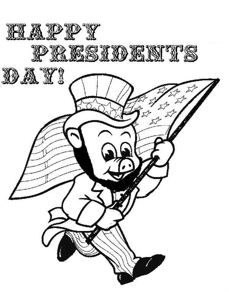 President 39 s Day coloring pages Free Printable President 39 s