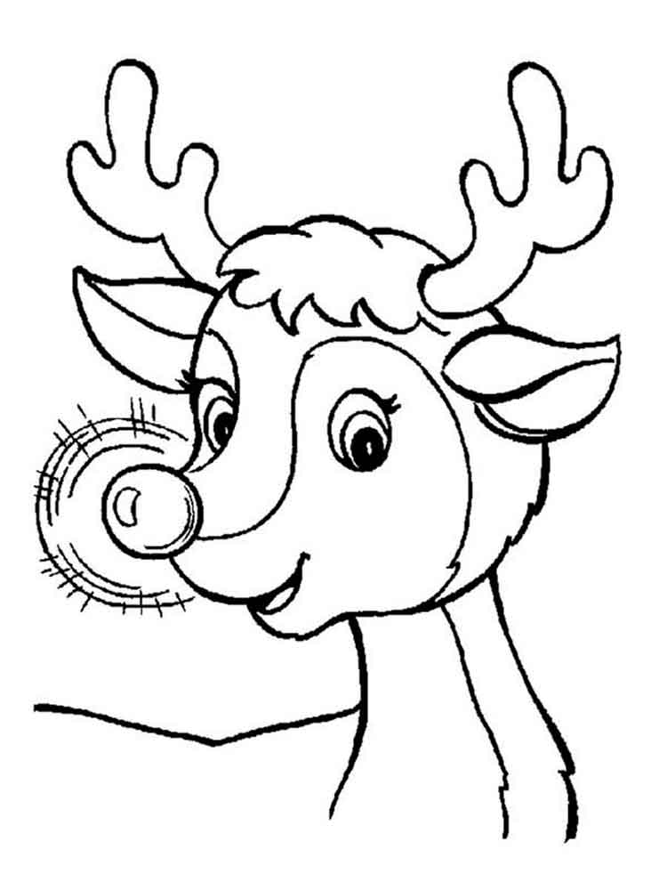 Lucrative image in rudolph printable