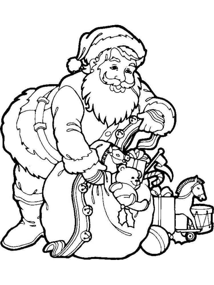 Santa Claus coloring pages. Free Printable Santa Claus coloring pages.