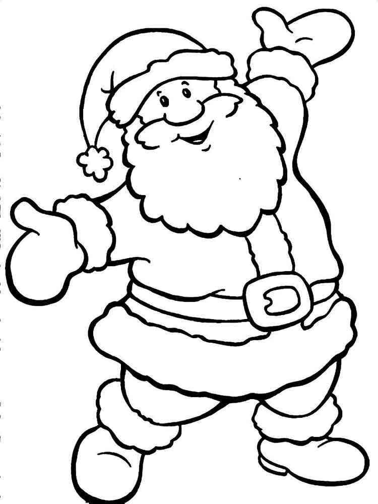82 Santa Claus Coloring Pages 4