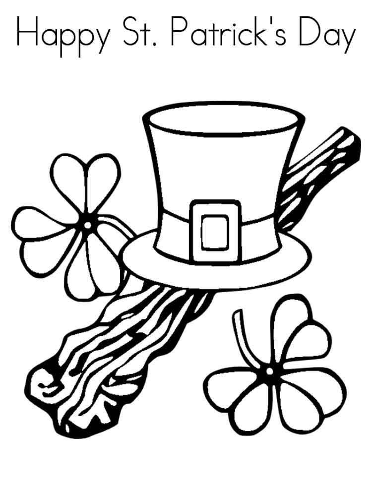 St. Patrick's Day coloring pages. Free Printable St ...