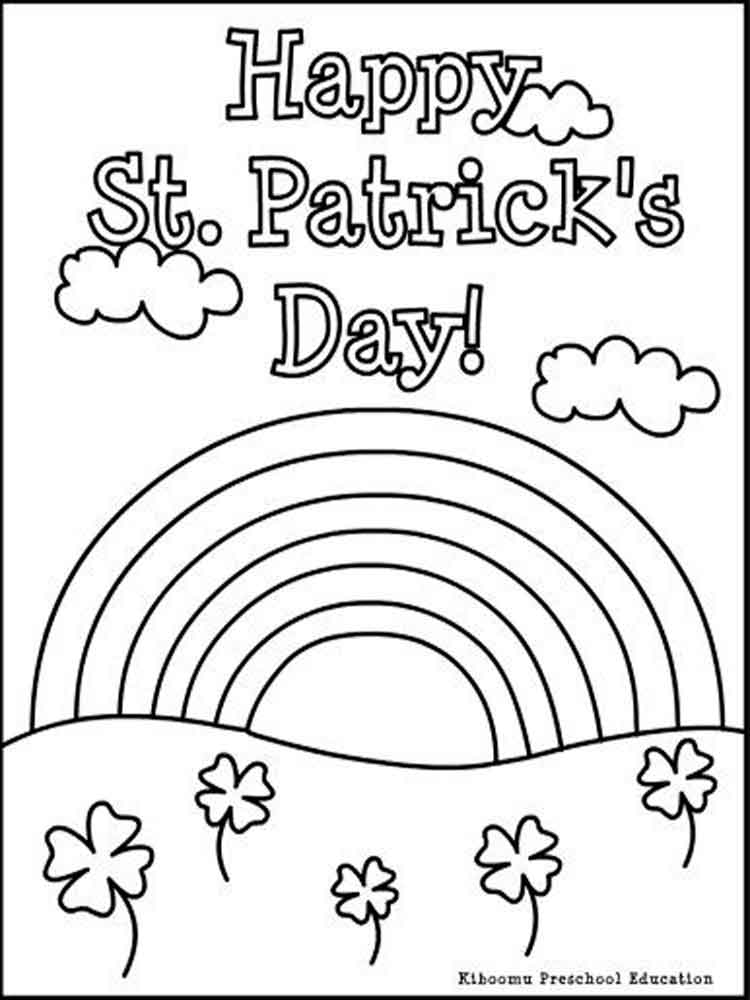 St Patrick 39 s Day coloring pages Free Printable St