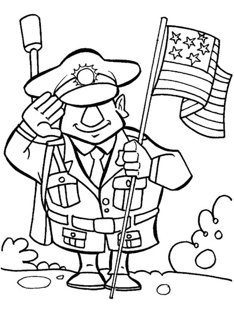 Veterans day coloring pages free printable veterans day for Coloring pages veterans day