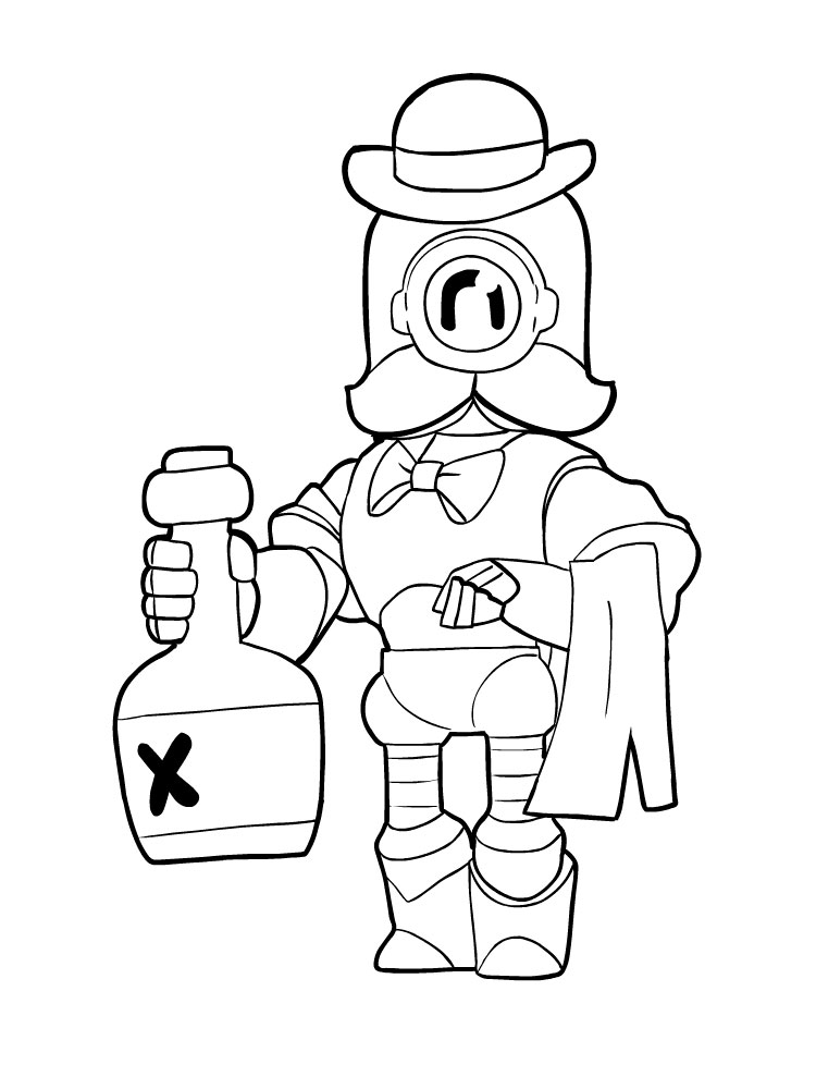 Brawl Stars Coloring Pages Download And Print Brawl Stars