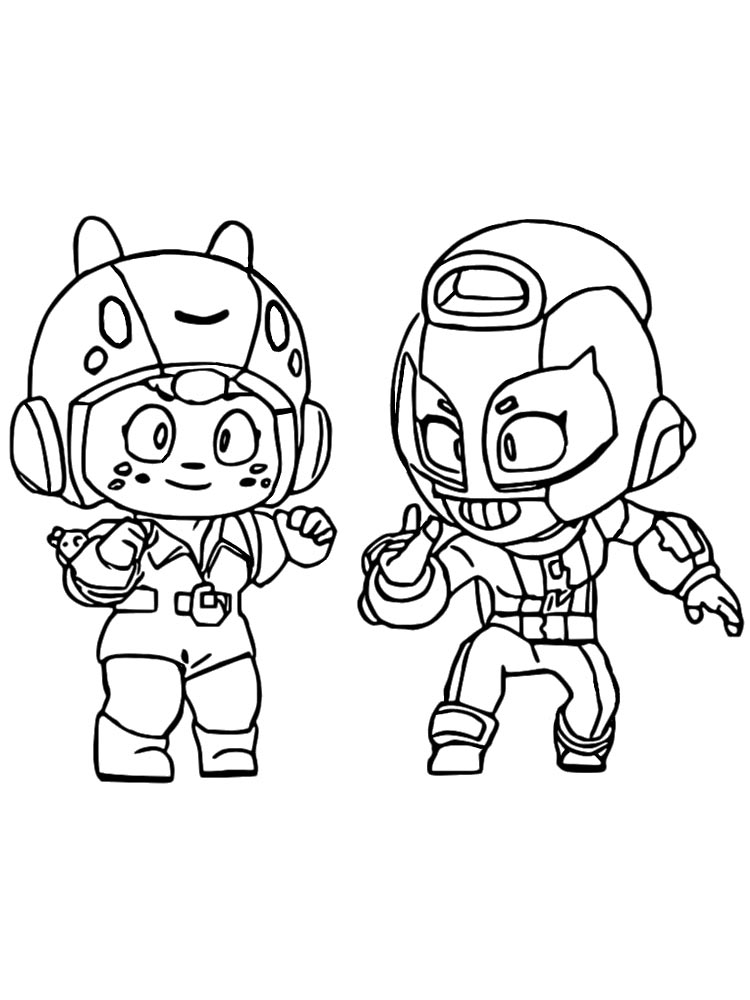 free bea brawl stars coloring pages download and print