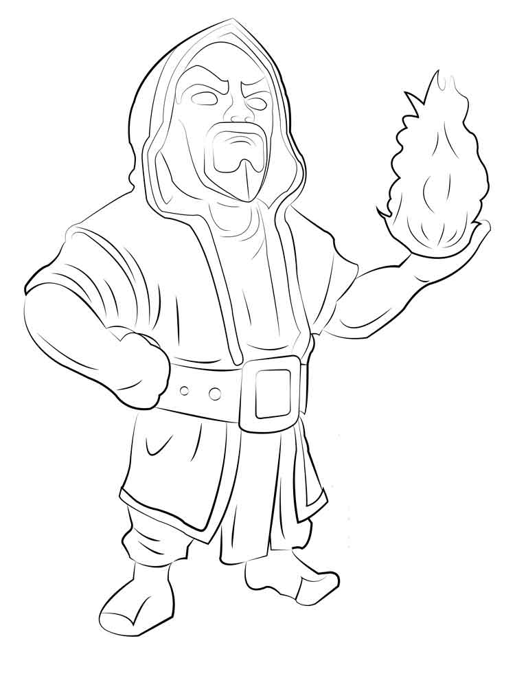 Clash Royale Coloring Pages Download And Print Clash Royale Coloring Pages