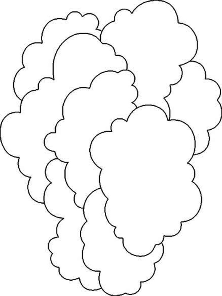Cloud coloring pages download and print cloud coloring pages for Coloring pages clouds
