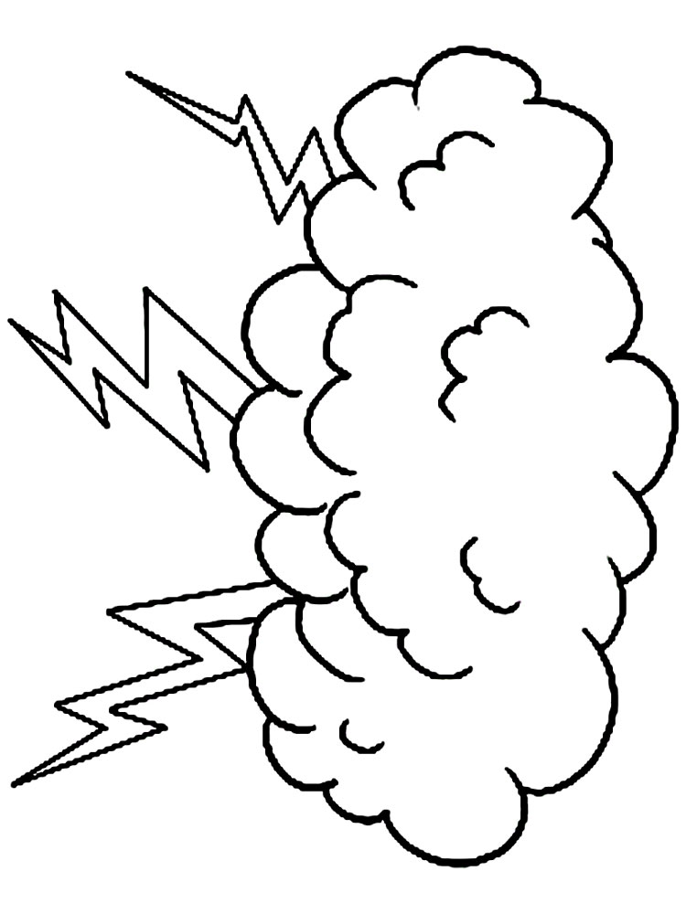 cloud print out coloring pages - photo#33