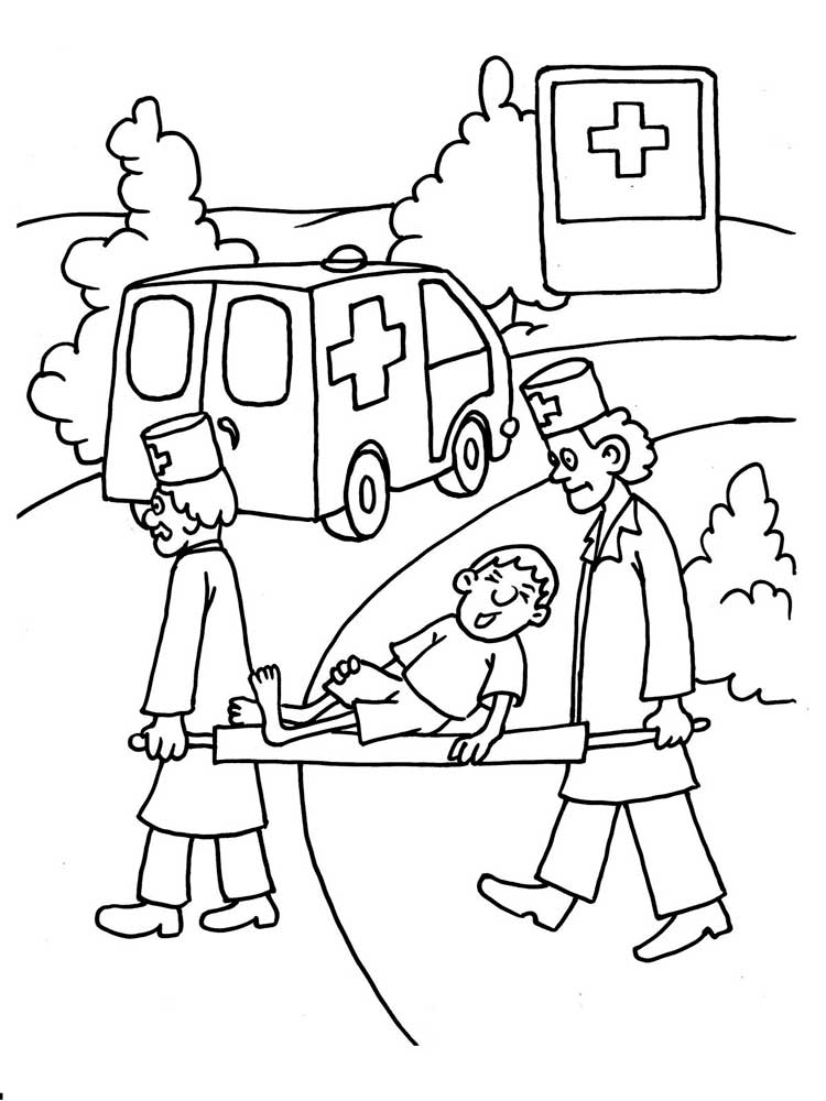 Doctor coloring pages. Download and print Doctor coloring ...