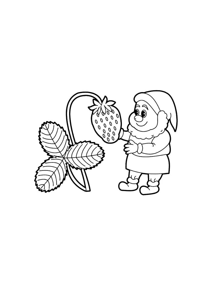 Gnomes coloring pages. Download and print Gnomes coloring ...