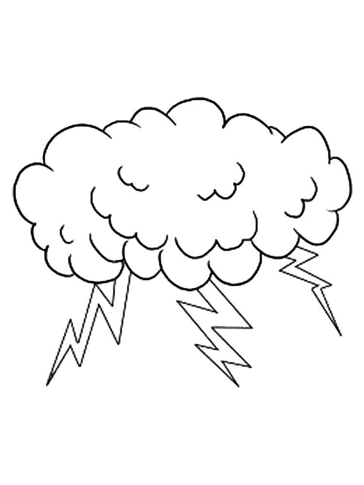 lightning coloring pages - photo#29