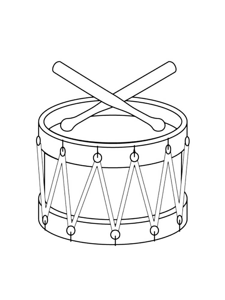 Musical Instrument coloring pages. Download and print ...
