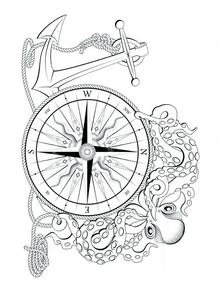 Nautical Coloring Pages Download And Print Nautical Coloring Pages