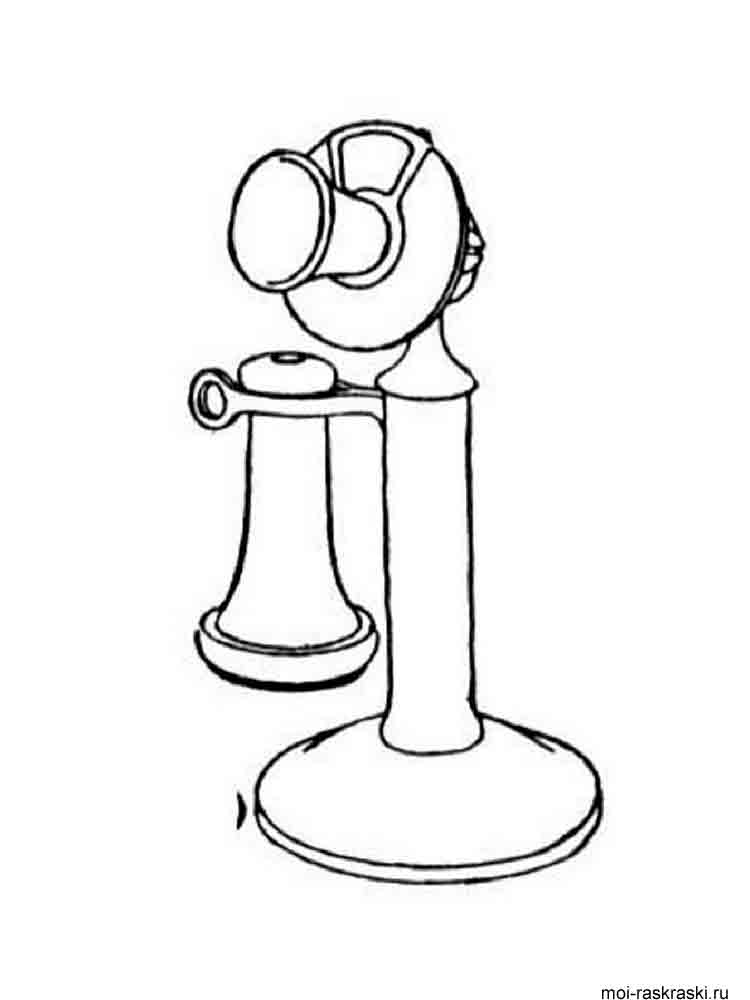 Phone coloring pages Download and print Phone coloring pages