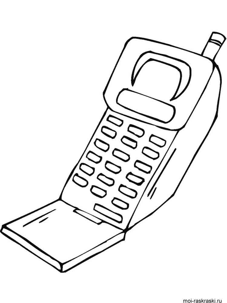 Coloring pages phone ~ Phone coloring pages. Download and print Phone coloring pages.