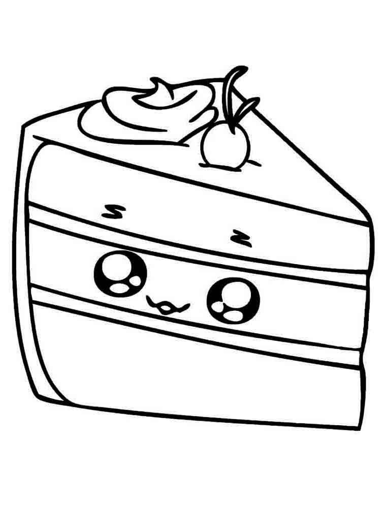 Pie coloring pages Download and