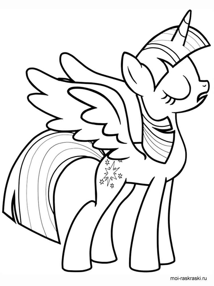 Twilight Sparkle Coloring Pages Download And Print Twilight Sparkle Coloring Pages