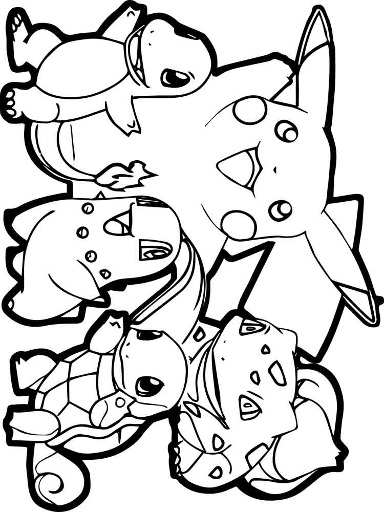 All Pokemon coloring pages. Free Printable All Pokemon ...