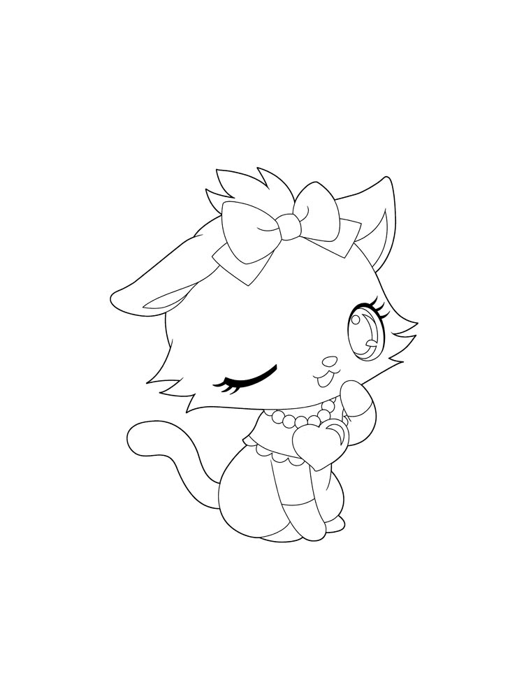 Anime Animals coloring pages Free