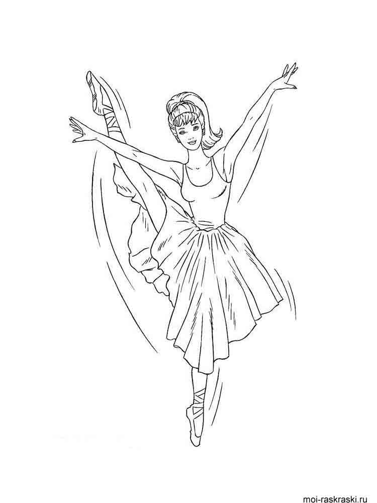 Ballerina coloring pages Download and print Ballerina coloring pages