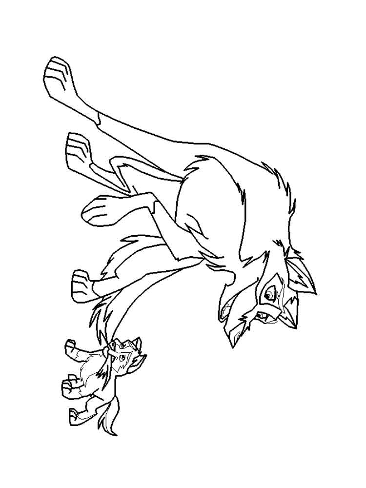 balto coloring pages online - photo#49